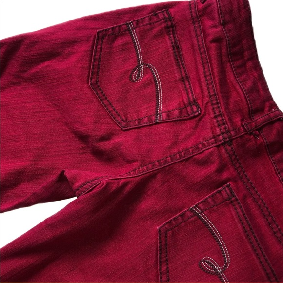 Justice Other - Justice Premium Red Jeans